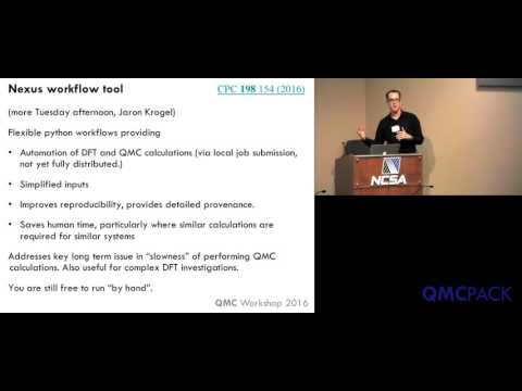 04 - Paul Kent - QMCPACK overview