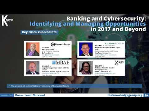 Banking and Cybersecurity