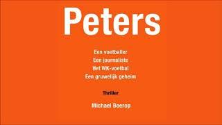 Mijn thriller Peters is vanaf 26 april te koop