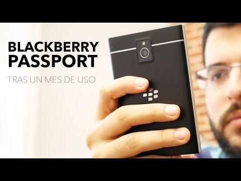 BlackBerry Passport, análisis tras un mes de uso