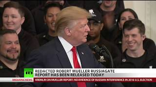 'Mueller Lite': Redacted report settles Russiagate