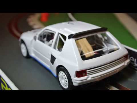 SlotRallyGB 2013 – OSC Peugeot 205 T16 – Video Test @ UK Slot Car Festival