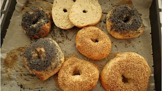 Homemade Bagels Recipe - Episode 499 - Baking with Eda