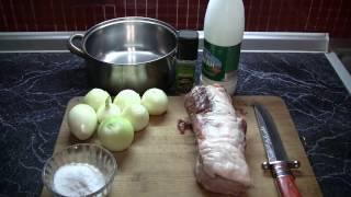 Нежный шашлык на АЙРАНЕ(Наша кухня)