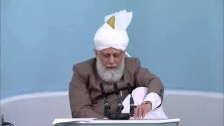 Arab Spring - Huzoor explains its reality