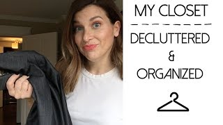 Declutter Round Three: My EPIC Closet Clean Out