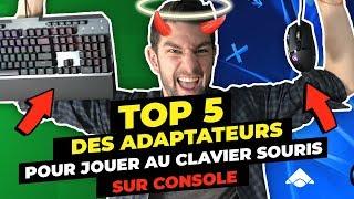 Les meilleurs adaptateurs pour jouer clavier souris sur console - TOP5