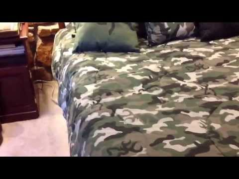 Camo Buckmark Bedding - Bedspread