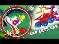 Car Eats Car Game - New Car Tank VS Last BOSS Clown - Final Car Game