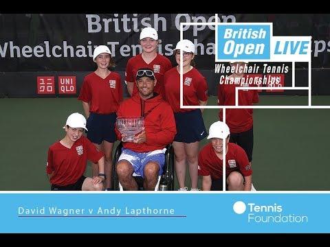 David Wagner v Andy Lapthorne | QS FINAL | British Open Wheelchair Tennis 2017