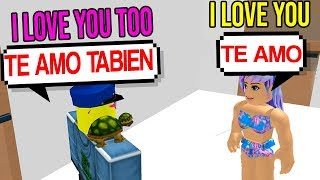 CATCHING SPANISH ONLINE DATERS (Roblox Hotel)