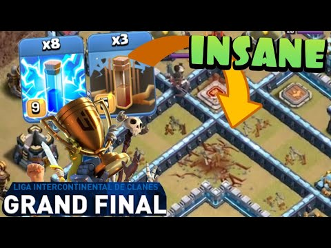 MOST INSANE ATTACK EVER?! INTZ vs Queen Walkers in LIC GRAND FINALS | Clash of Clans e-Sports