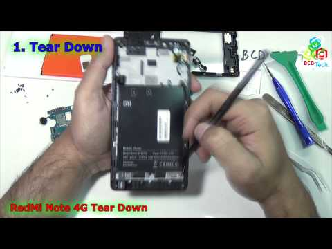 xiaomi-redmi-note-4g-tear-down,-parts-view-&-assembly-reveals-4g-antenna,-and-qualcomm-cpu