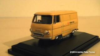Oxford Diecast Commer PB Van British Rail (1:76 Scale) Review HD