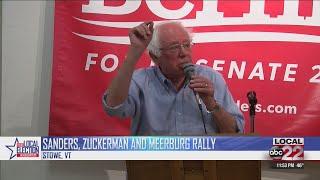 Senator Bernie Sanders reacts to Kavanaugh allegations