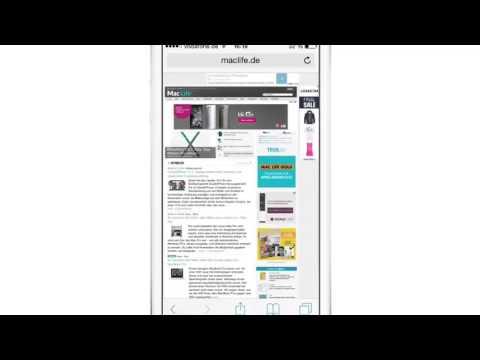IPhone IPad Anleitung: Lesezeichen In Safari Schnell Hinzufügen