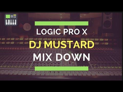 Logic Pro X | Mixing Trap Beats | DJ Mustard Type