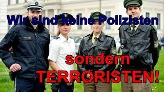 """Firma """"POLIZEI"""" gibt zu: Das Grundgesetz ist erledigt!"""