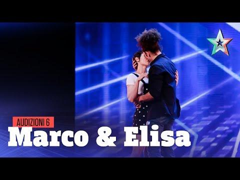 Marco e Elisa, un bacio lungo 100 secondi