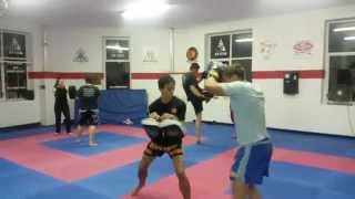 Beginners Thai Boxing 4 counts