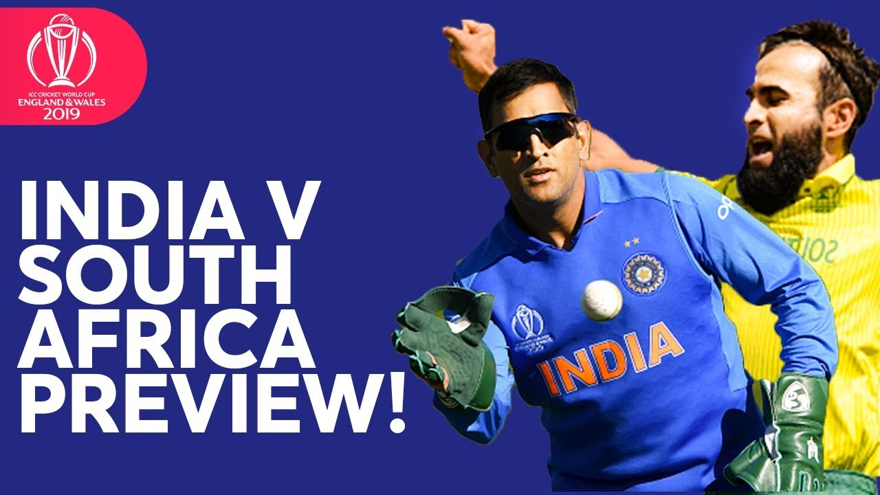 India v South Africa Focus! | ICC Cricket World Cup 2019