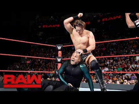 The Miz vs. Jeff Hardy - Intercontinental Championship Match: Raw, Sept. 4, 2017