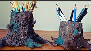 מחזיק עפרונות מעיסת נייר