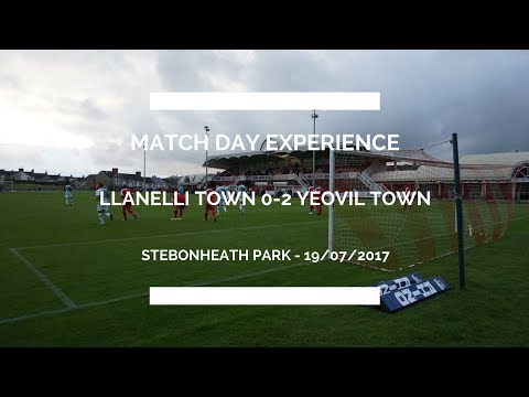 Groundhop at Stebonheath Park - Llanelli Town vs. Yeovil Town - AWESOME WELSH GROUND!