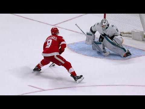 Abdelkader, Tatar lead Red Wings to seven-round SO win