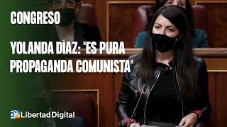 Macarena Olona, a Yolanda Díaz: