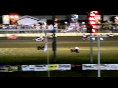 Cornhusker Midget Challenge - July 30, 2011 - Junction Motor Speedway - McCool Junction, Nebraska