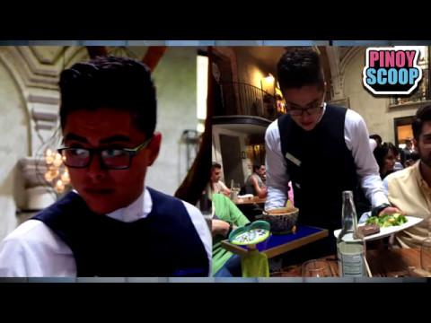 Daniel Padilla Mexican Look Alike Serves Customers In Mexico