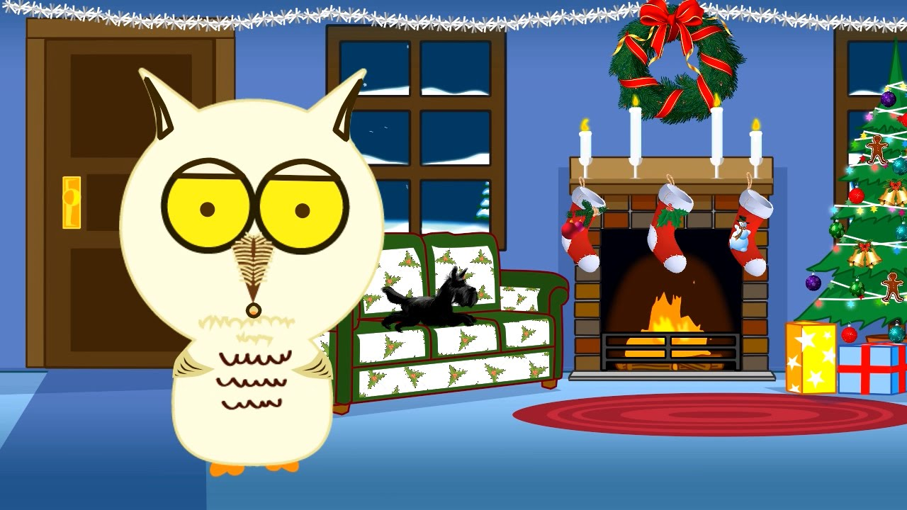 Have A Hoot Of Christmas Free Animated Musical ECard
