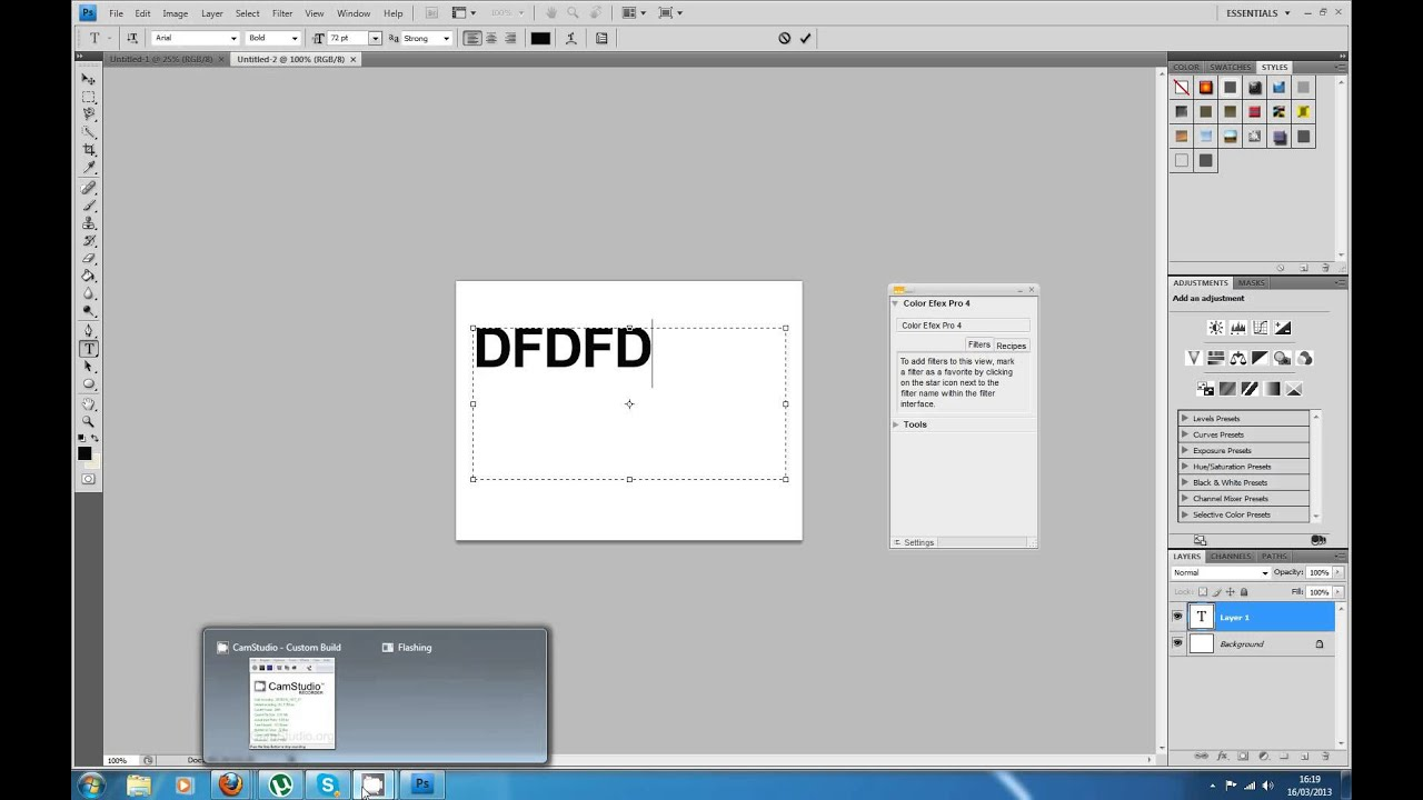 Convert Photoshop Font Point (Pt) to Pixels (Px ...