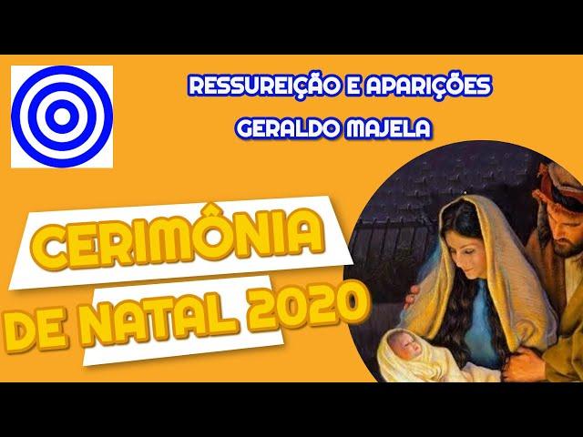 CERIMÔNIA DE NATAL 2020 - PALESTRA RESSURREIÇÃO E APARIÇÕES