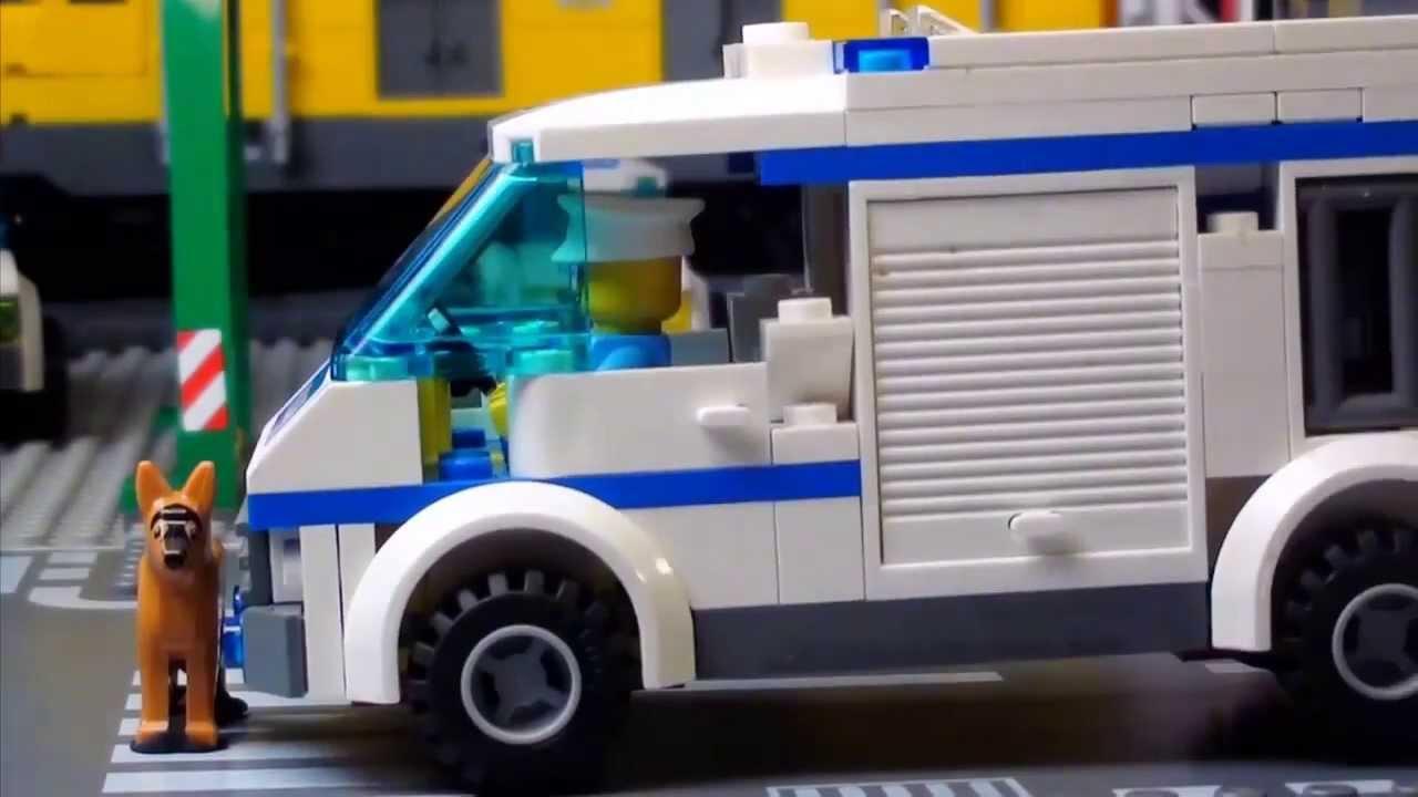 Lego City - Лего Сити видео - украденная личность - YouTube