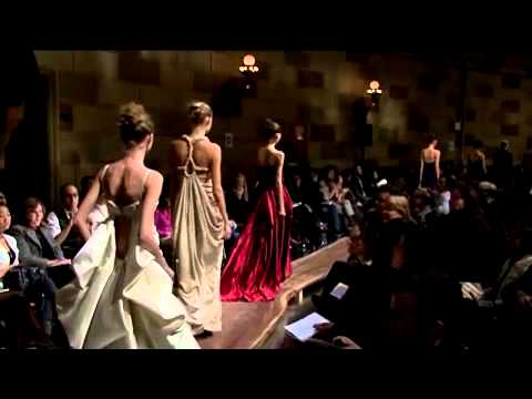 Eco Couture at Fashion Week in New York City (Subtitled)