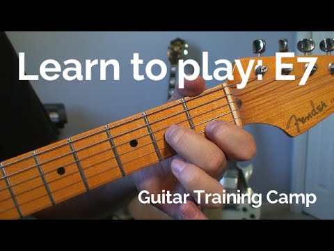 Beginner Guitar Lessons How To Play A E7 Chord Youtube