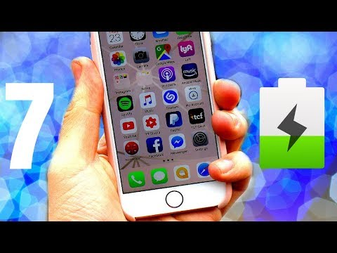 iPhone 7 iOS 1126 All Day Battery Test VLOG#22