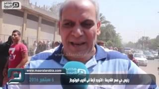 بالفيديو| رئيس حي مصر القديمة: هجوم الناس سبب أزمة الأنابيب
