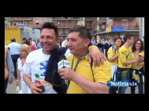 Calcio, Festa Frosinone In Serie A