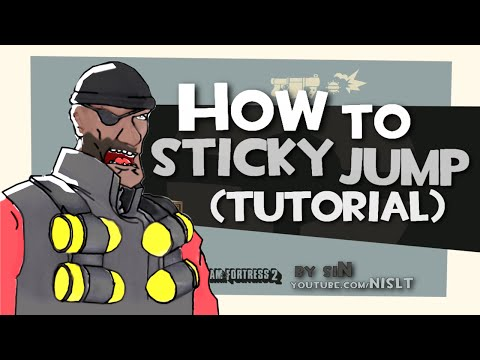 TF2: How to sticky jump (tutorial)