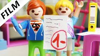 Playmobil Film Deutsch - JULIAN SCHREIBT 1- IN MATHE! IST ER EIN HOCHBEGABTES KIND? Familie Vogel