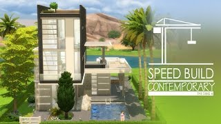 The Sims 4 Speed Build - Contemporary House