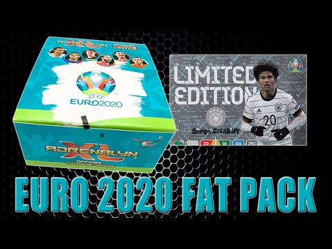 Panini EURO 2020 FAT PACK DISPLAY BOX ⚽