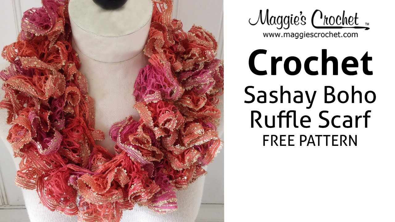 a6402ac23e47e Sashay Boho Ruffled Scarf - Right Handed - YouTube