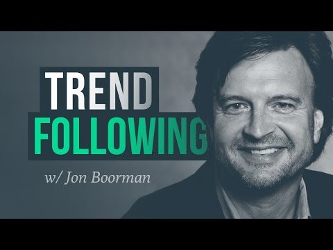 Trend following, risk management & long term survival w/ Jon Boorman (stock trader)
