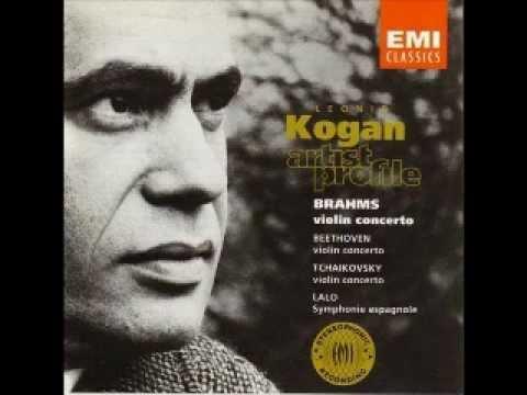 Leonid Kogan - Tchaikovsky: Violin Concerto in D major Op.35, I. Allegro moderato - Moderato assai