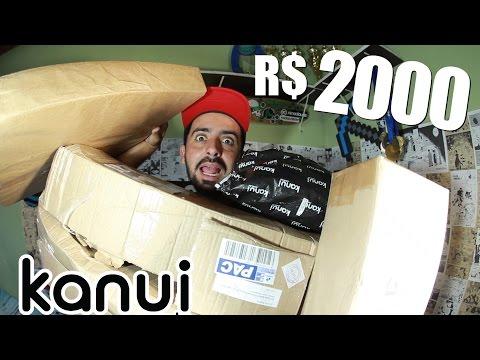 2.000 REAIS KANUI - UNBOXING + SORTEIO E DESAFIO 200K