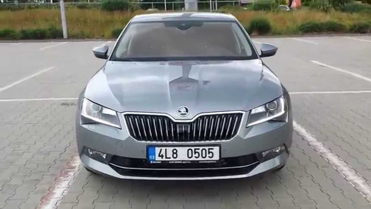 Skoda Superb 3 2015 Smart Features Youtube
